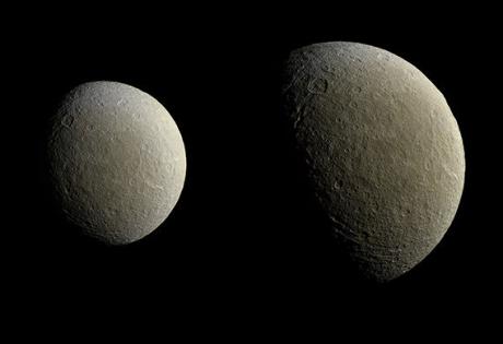 сатурн, рея, NASA