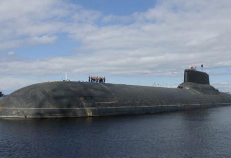 Погружение в недра самой большой в мире атомной подлодки