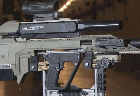 """CМИ: канадская оружейная компания представила """"умный"""" автомат"""