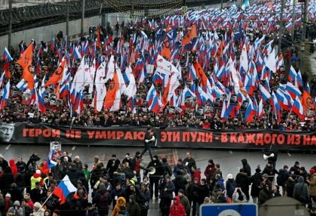 марш, немцов, россия, сша, украина, антимайдан