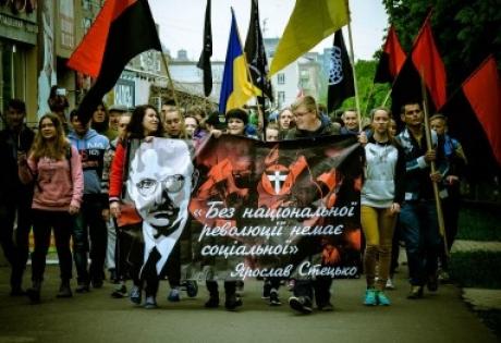 мариуполь, националисты, марш, 1 мая, общество, политика, шествие, националистический первомай