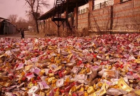 донецк, ато, днр. восток украины, происшествия, общество, конфеты