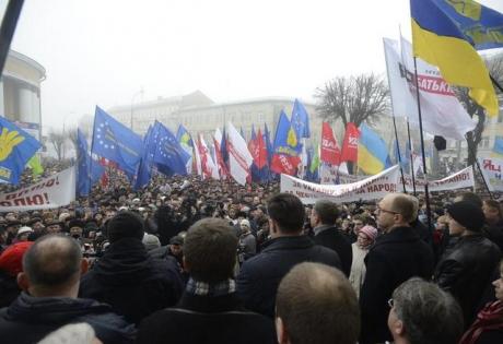 Винницы, Майдан, вече, требование, отставка, прокурор, протестующие