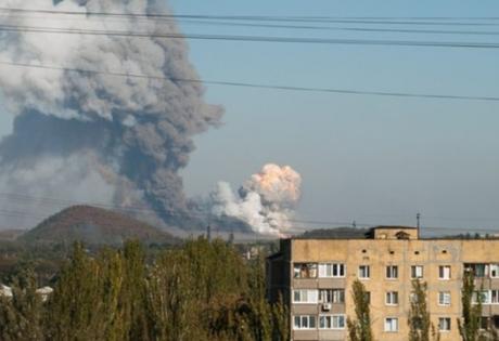 новости войны, военный конфликт, война в украине, военное обозрение, новости донецка, донецк сегодня, донбасс, химзавод, взрывы, обстрел донецка,