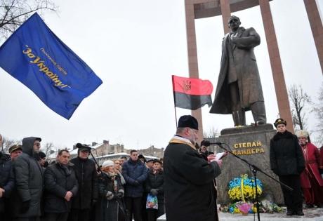 львов, украина, бандера, марш