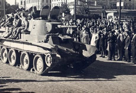 1940 год, Украина, ввод войск, Россия, Сталин, коммунизм