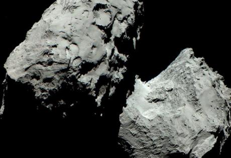 комета чурюмова-герасименко, цвет, зонд Rosetta, модуль Philae