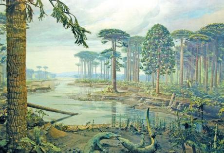 Динозавры, наука, история, монстры, триасовый период, пермский период