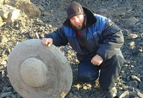 кемерово, находка, камень. диск.россия