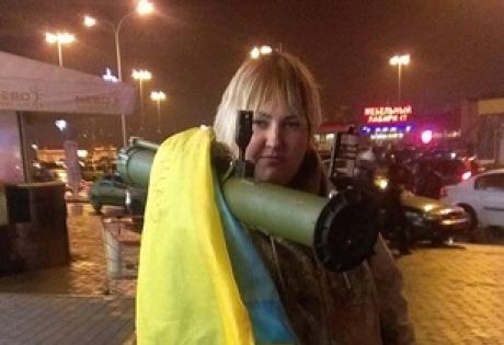 катерина, харьков, активиста, РПГ