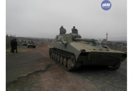 днр, отвод техники, волноваха, донбасс, ато, восток украины
